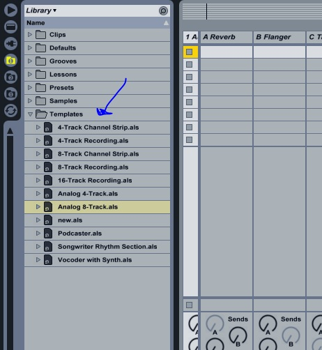 How to Create Multiple Ableton Template Files | Ableton
